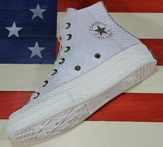 CONVERSE Chuck Taylor ALL-STAR Hi 70s Snakeskin Leather White [561758C] ... - $95.55
