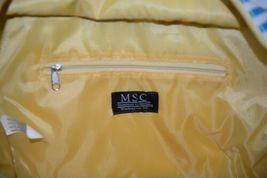 Mainstreet Collection DBST6665 Stripe Diaper Bag Coated Canvas image 4