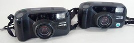 Lot of 2 Pentax Zoom 90 WR Water Resistant 35 mm Film Camera Wireless Re... - $11.26