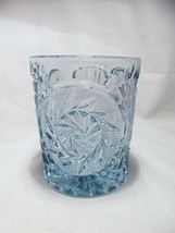 8 Fostoria STOWE Blue Double Old Fashion Rocks glasses - $38.99