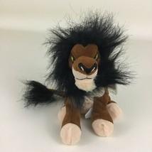 "Disney Store Lion King Scar Mini Bean Bag Plush 8"" Stuffed Toy Vintage 90s w Tag - $27.67"