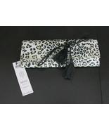New Chicos NOSZ Jewelry Roll Travel Case Animal Print $49.00 - $27.72