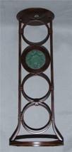 "Partylite LA ROSETTA Bronze Metal Glass Medallion 17"" Pillar Candle Holder NIB - $44.99"