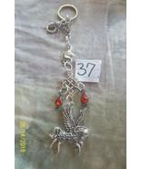 purse jewlrey pegasus unicorn beauty keychain backpack filigree dangle c... - $10.69