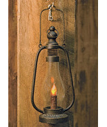 "Rustic Black Lantern 12"" Tall Christmas Gifting Led Taper candle  - $39.99"