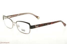Dolce & Gabbana Women's Eyeglasses D&G 5102 1102 Black/Print Rectangle F... - $86.33
