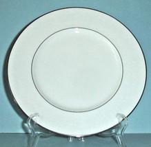 Lenox Venetian Lace Dinner Plate Platinum Trim New - $26.90