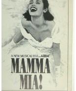 Mamma Mia Playbill June 2004 Cadillac Winter ABBA Dee Hoty Hillner Musty... - $9.89
