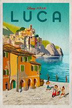 "Luca Poster Enrico Casarosa Movie Art Animated Film Print Size 24x36"" 27... - $10.90+"