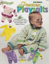 Precious Playsuits, The Needlecraft Shop Crochet Pattern Booklet 941808 - $16.95