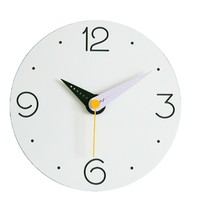 Moro Design Point Line Wall Clock non Ticking Silent Modern Clock (Purple) image 1