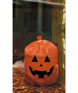 Set of 2 Pumpkin Leaf Bag Halloween Yard Decoration - $7.91
