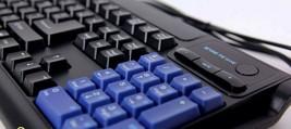 Skydigital Nkey Macro Korean English Gaming Keyboard USB Wired Membrane Keyboard image 2
