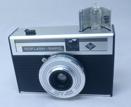 AGFA ISOFLASH Rapid Vintage Point Shoot 35mm Film Camera ISINAR Lens GER... - $28.00