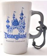 Starbucks Disneyland 60th Diamond Celebration Ceramic Ornament Mug NEW I... - $21.99