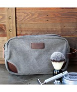 Premium Canvas Toiletry Bag - Groomsmen Gift, Father's Day Gift - $19.95