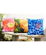 Enchanted Garden Floral Design Pillows by Giftcraft - 3 Gorgeous Designs! - $28.71