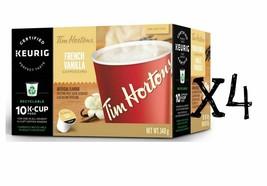 Tim Hortons Keurig Single Serve K Cups French Vanilla Cappuccino - Box of 10x4 - $39.59