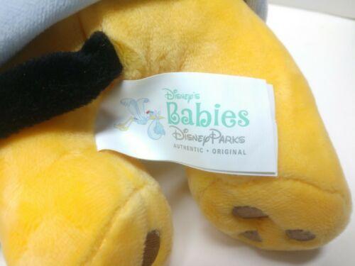 DISNEY PARKS DISNEY BABIES -  BABY PLUTO /BLANKET PLUSH DOLL TOY - EUC