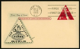 #UX44 2c Liberty Torch FIPEX, Fleetwood FDC ANY 4= - $1.22