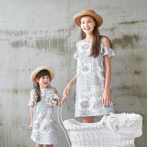Family Matching Outfits 2019 Girl Striped Dress Family Matching Sets Mom... - $14.50