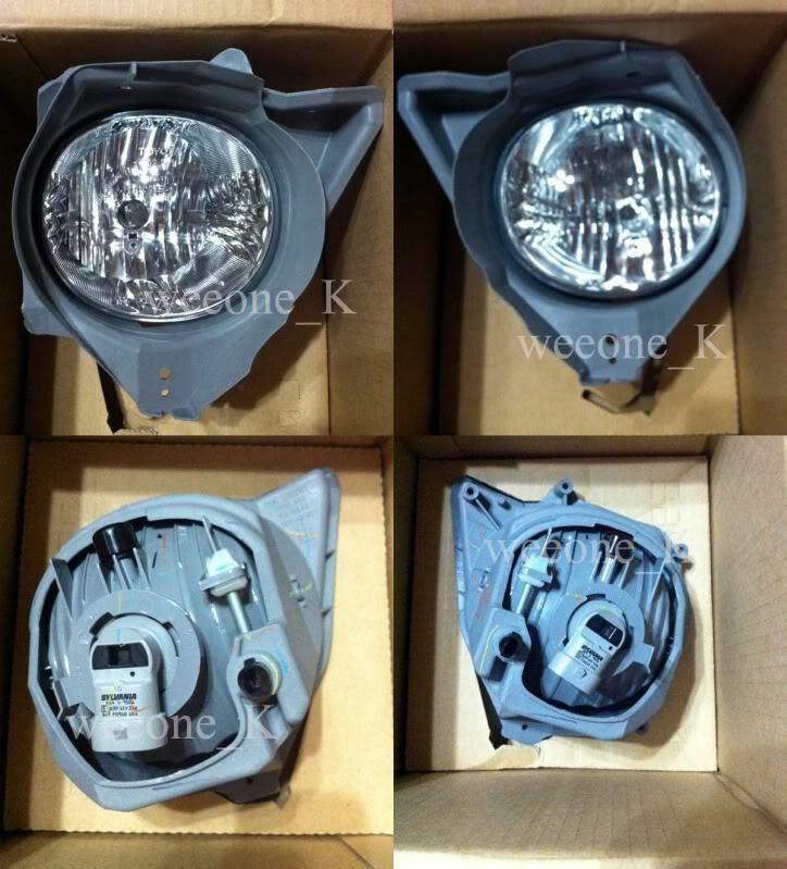 NEW Spot Fog light Lamp Kit For TOYOTA FORTUNER 2005 2006 2007 2008 2009 2010