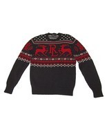 Polo Ralph Lauren Men's Fair Isle Knit Crewneck Christmas Sweater MEDIUM... - £125.41 GBP