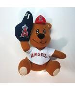 Los Angeles ANGELS of Anaheim MLB Plush Bear Wearing No. 1 Rally Glove ... - $7.99