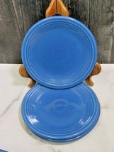 "Set of 3 Fiesta Lapis Blue 7.25"" Salad Plate - $17.82"