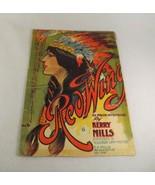 "1907 Sheet Music ""Redwing"" Native American Cover Art - $6.88"