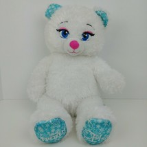 Build A Bear White Frozen Elsa Bear Limited Edition Plush Stuffed Animal - $23.76