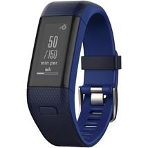 Garmin Vivosmart Hr+ Activity Tracker (regular Fit; Midnight Blue And Fo... - $237.28