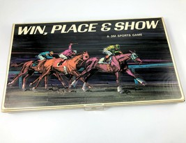 Vintage Win Place & Show Board Game 3M Sports Horse Racing Complete 1966 - $28.04