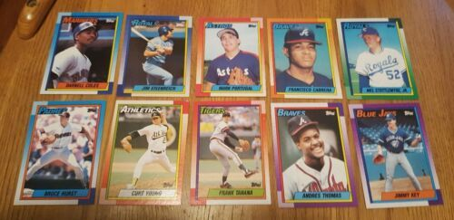 Topps 1990 Baseball Cards LotOf 54 Cards image 2