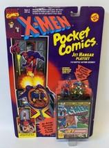 Vintage 1994 Toy Biz Marvel X-MEN Pocket Comics Jet Hangar Playset, Sealed! - $20.00
