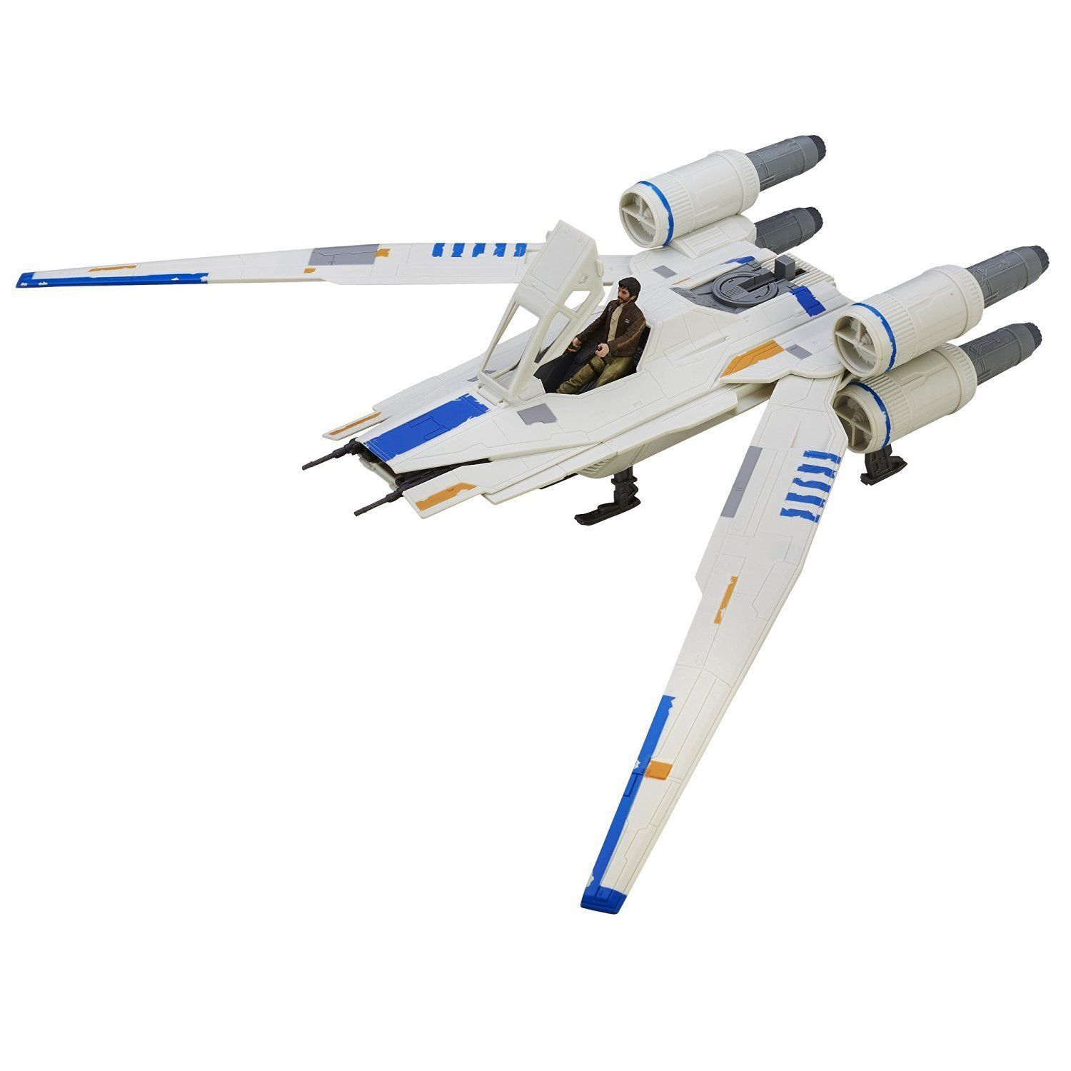 Image 1 of Star Wars Rogue One Rebel U-Wing Fighter Vehicle, Hasbro, 6+