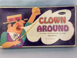 Vintage Clown Around Board Game 1967 Whitman Complete - $14.00