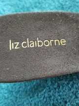 LIZ CLAIBORNE, LORA, SIZE 7.5, WEDGE, HEELED, SLIDE SANDALS, NEW image 2