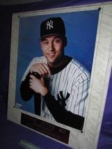 NY Yankees New York Yankees Derek Foto File Photo Plaque #2 Shortstop 19... - $29.69