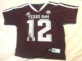Texas A&M Boys Jersey Boys size  5/6 Burgundy Red - $2.97