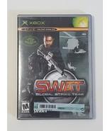 SWAT GLOBAL STRIKE TEAM --- XBOX Complete CIB w/ Box, Manual - $4.90