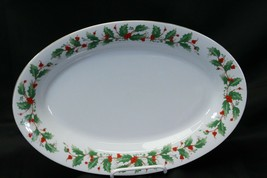 China Pearl Noel Platter Platter Bowl Cream Sugar Brown Stamp - $58.79