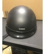 Harley Davidson Raider Motorcycle Half Helmet Open face A-618 Size M - $56.92