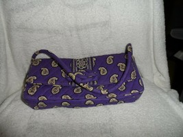 Vera Bradley KNot Just a Clutch in Simply Violet pattern - $16.50