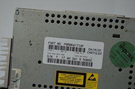 2004-2010 CHRYSLER DODGE RADIO CD PLAYR AUX IPOD (FOR PARTS) P05064171AF C13#017 image 5