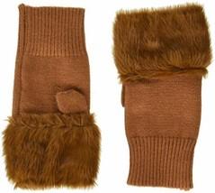 Steve Madden Women's Fur Hand Warmer ( Rust) - $21.75