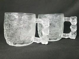 Set of 2 McDonald's The Flintstones Cups Rocky Road Mugs Coffee Cocoa 19... - $20.56