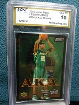 2003 Upper Deck Lebron James Aka #206 - $26.73