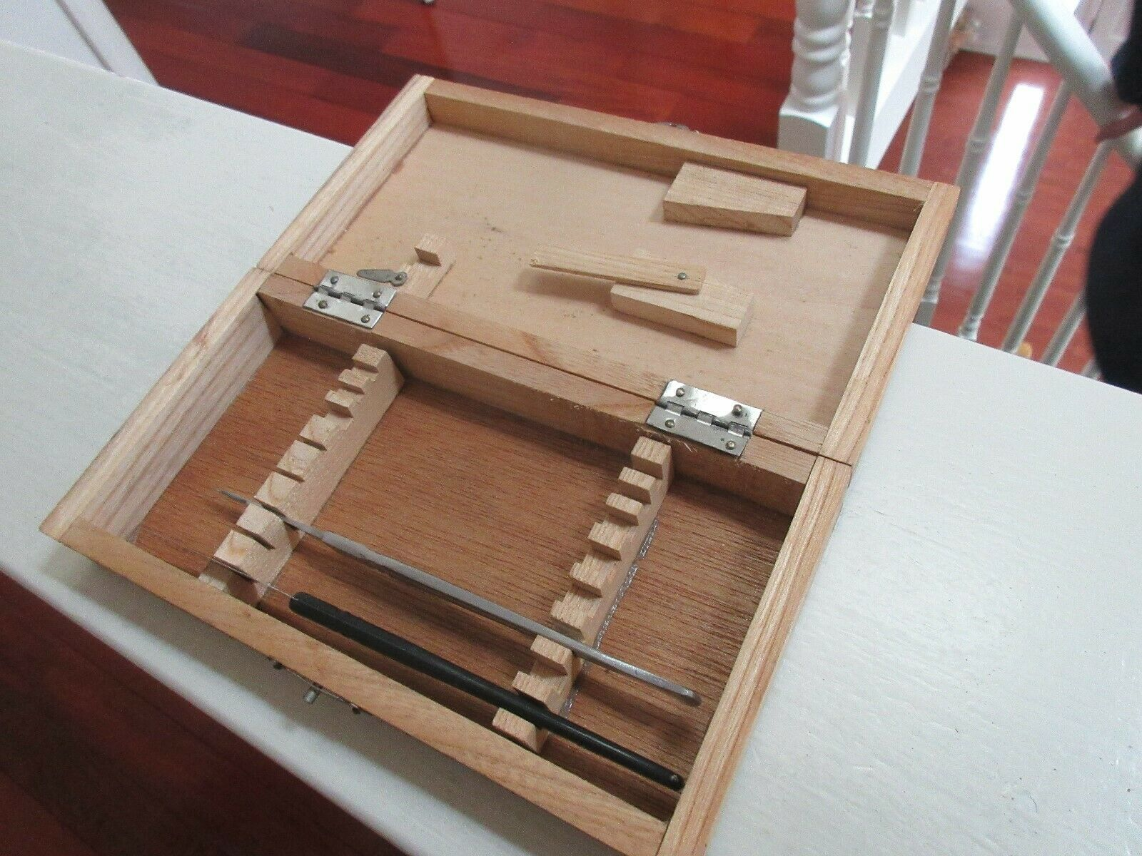 Rx , Pharmacy , Wood Dissecting Kit , Vintage , Incomplete image 6