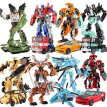 Transformers Robots Class Action Figure Optimus Prime bumblebee Deluxe D... - $18.99